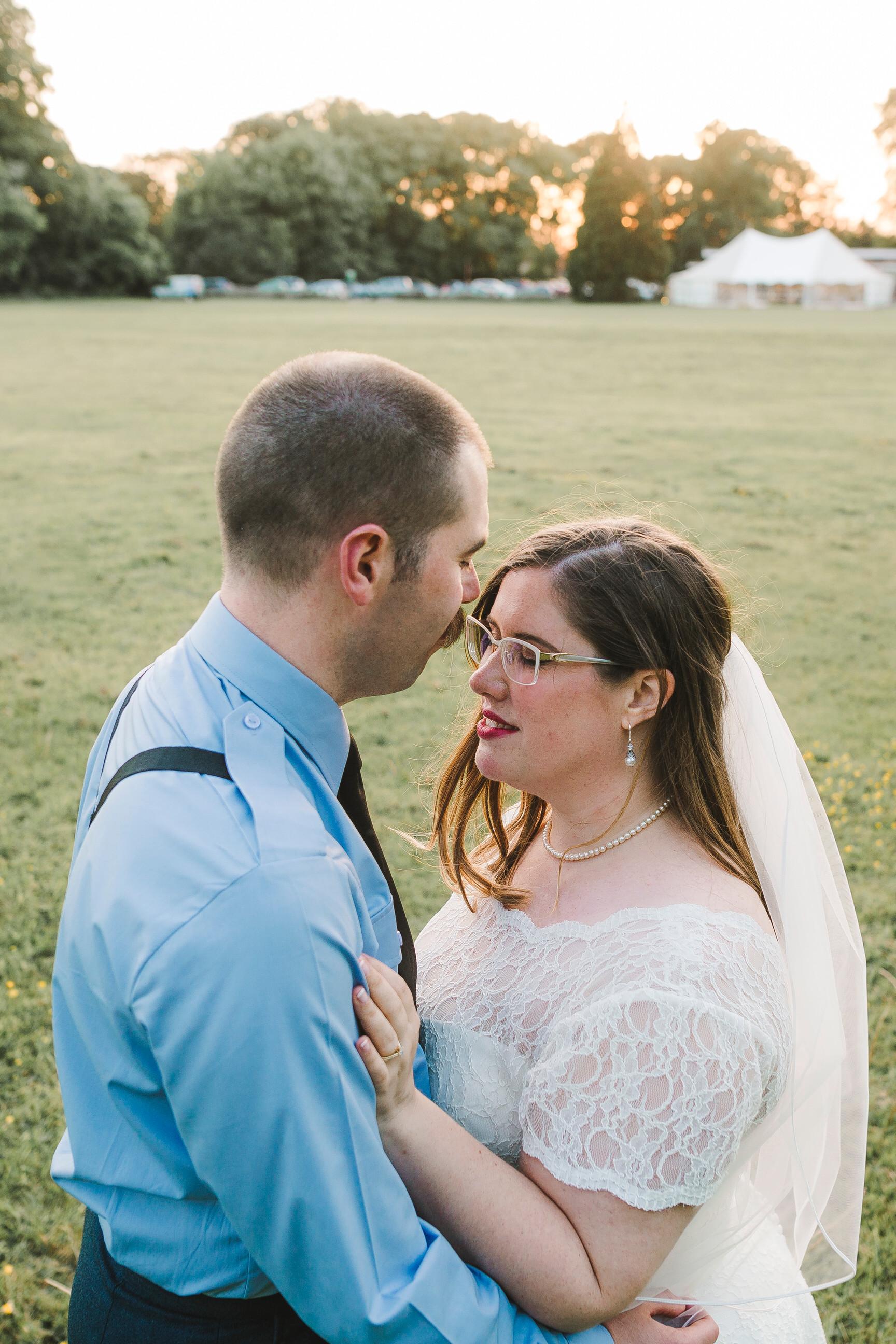 diy marquee wedding in cheshire