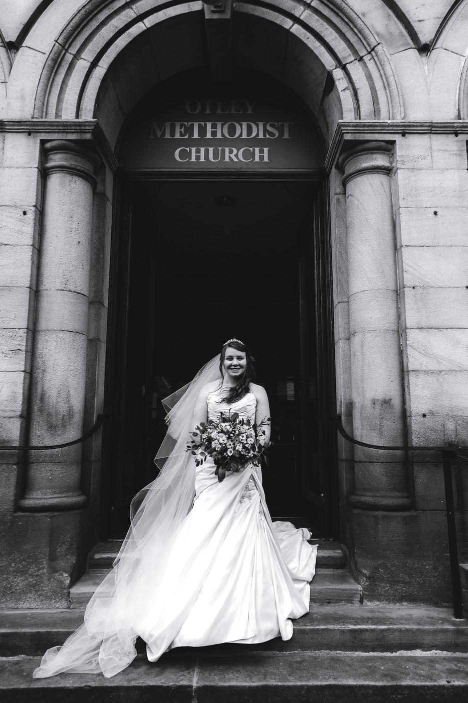 Wedding Photography Otley Methodist