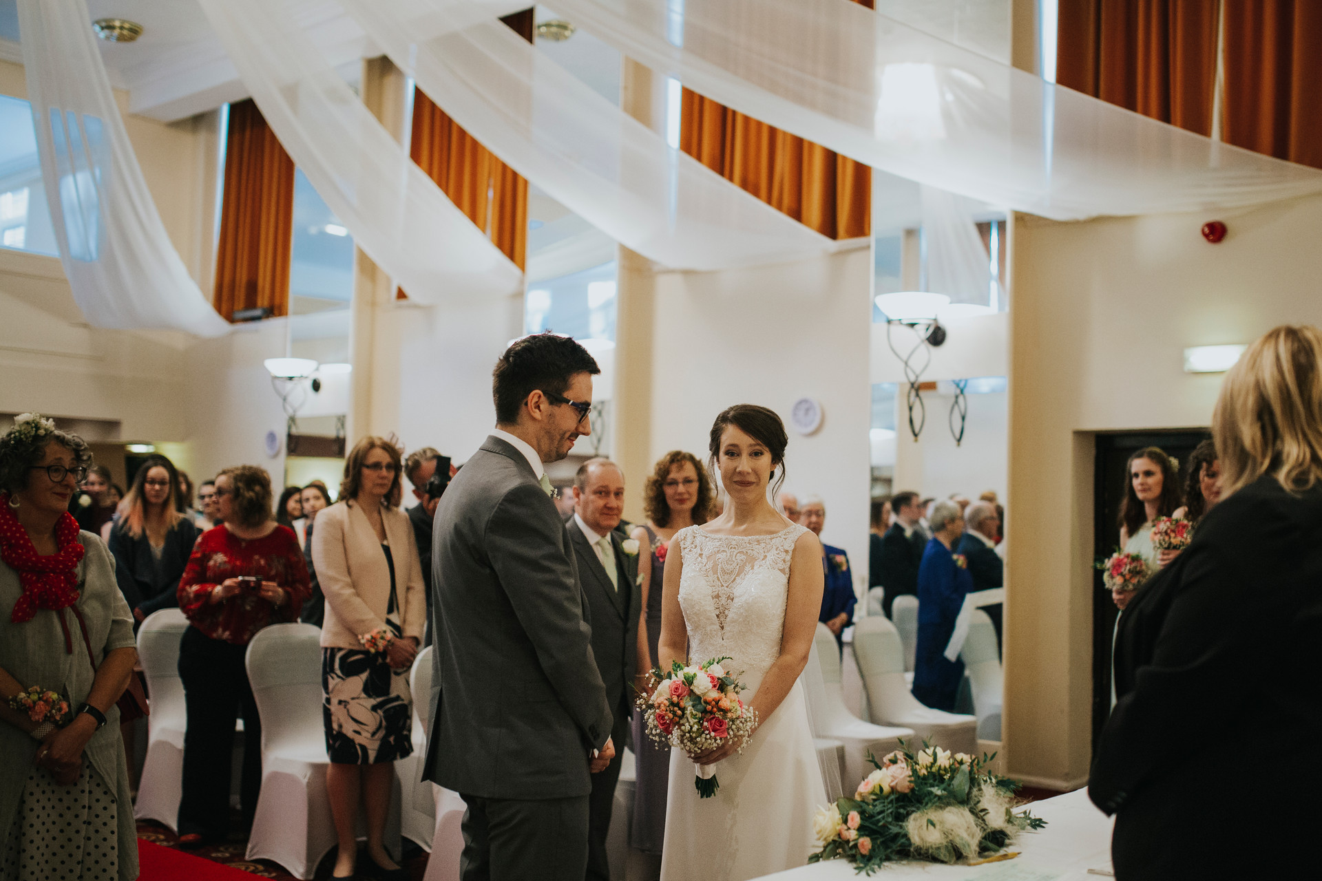 wedding ceremony leeds parkway hotel