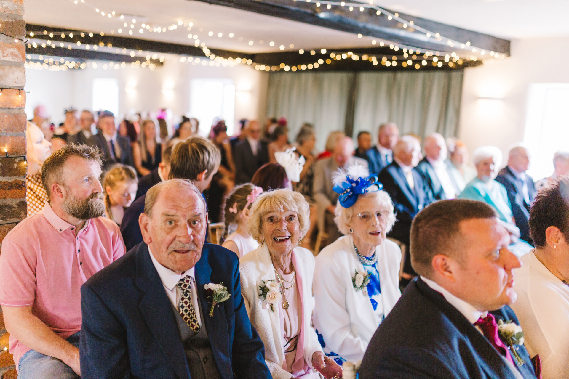 fox and goose chesterfield wedding ceremony