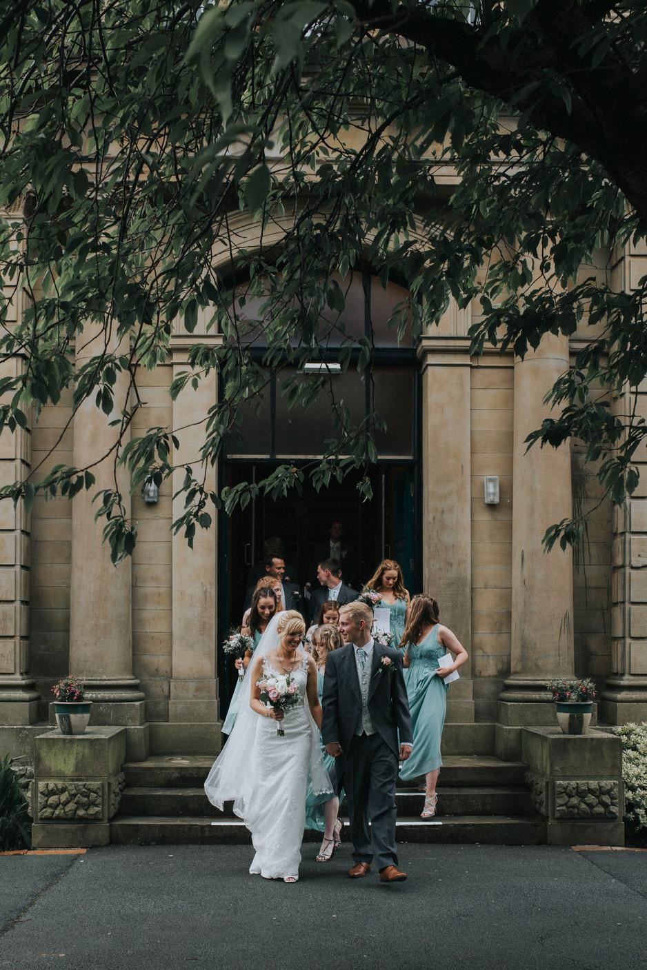 floral church wedding yorkshire