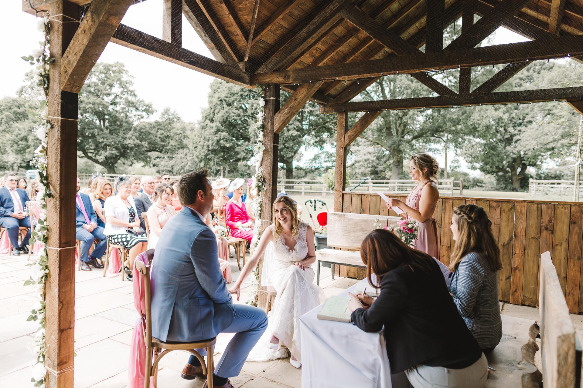 wedding at villa farm