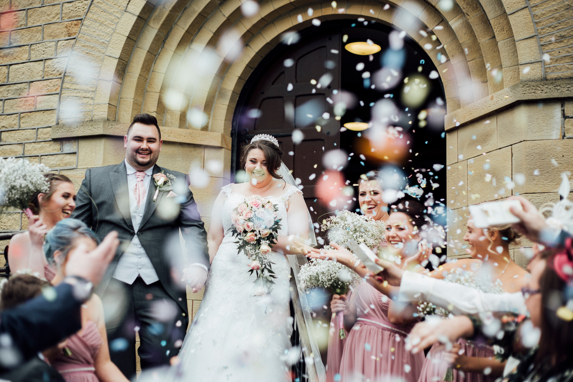 confetti wedding phootgraphy lepton