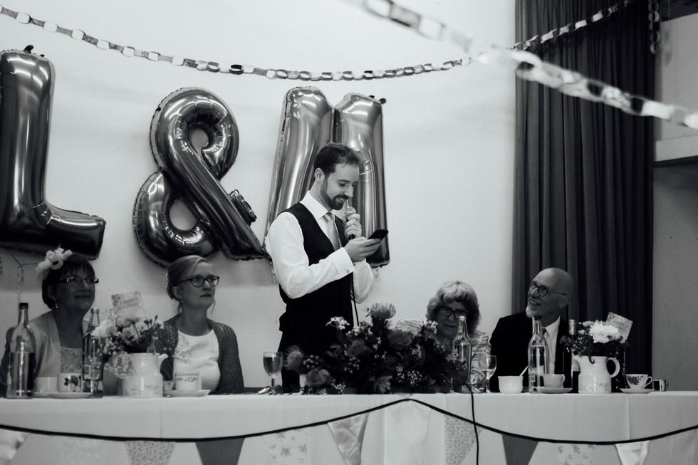 meltham village hall wedding photography