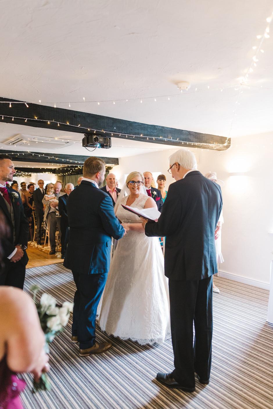 fox and goose inn wedding