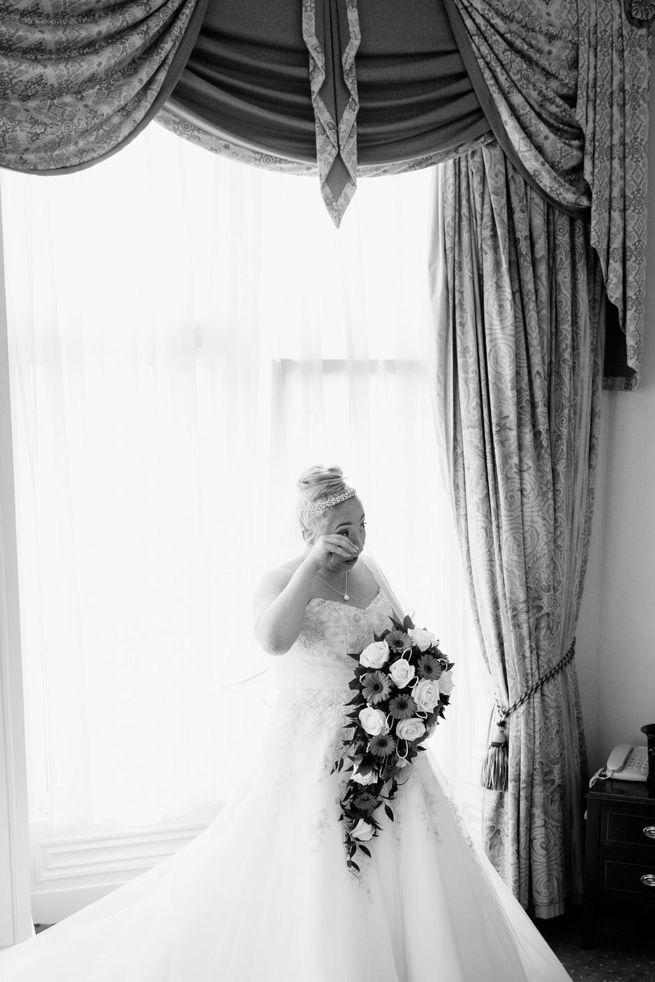 bridal suite Dunkenhalgh Hotel