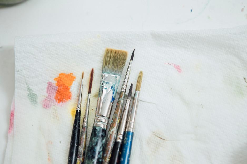 artists aquipment