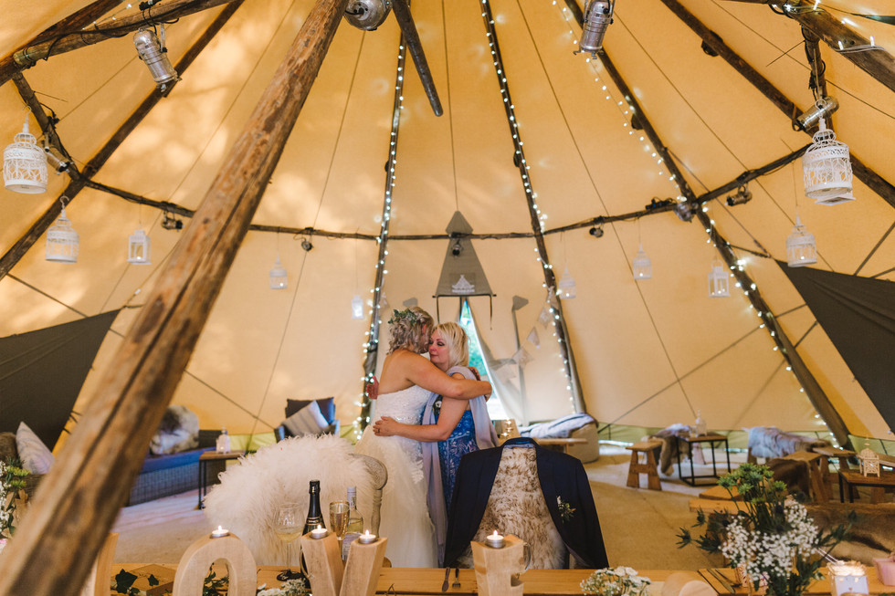 Leeds tipi wedding
