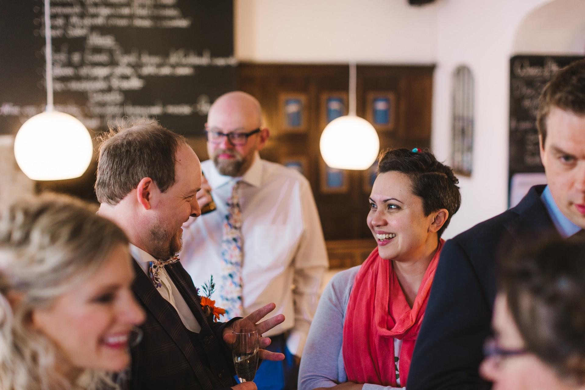 wine bar llangollen wedding