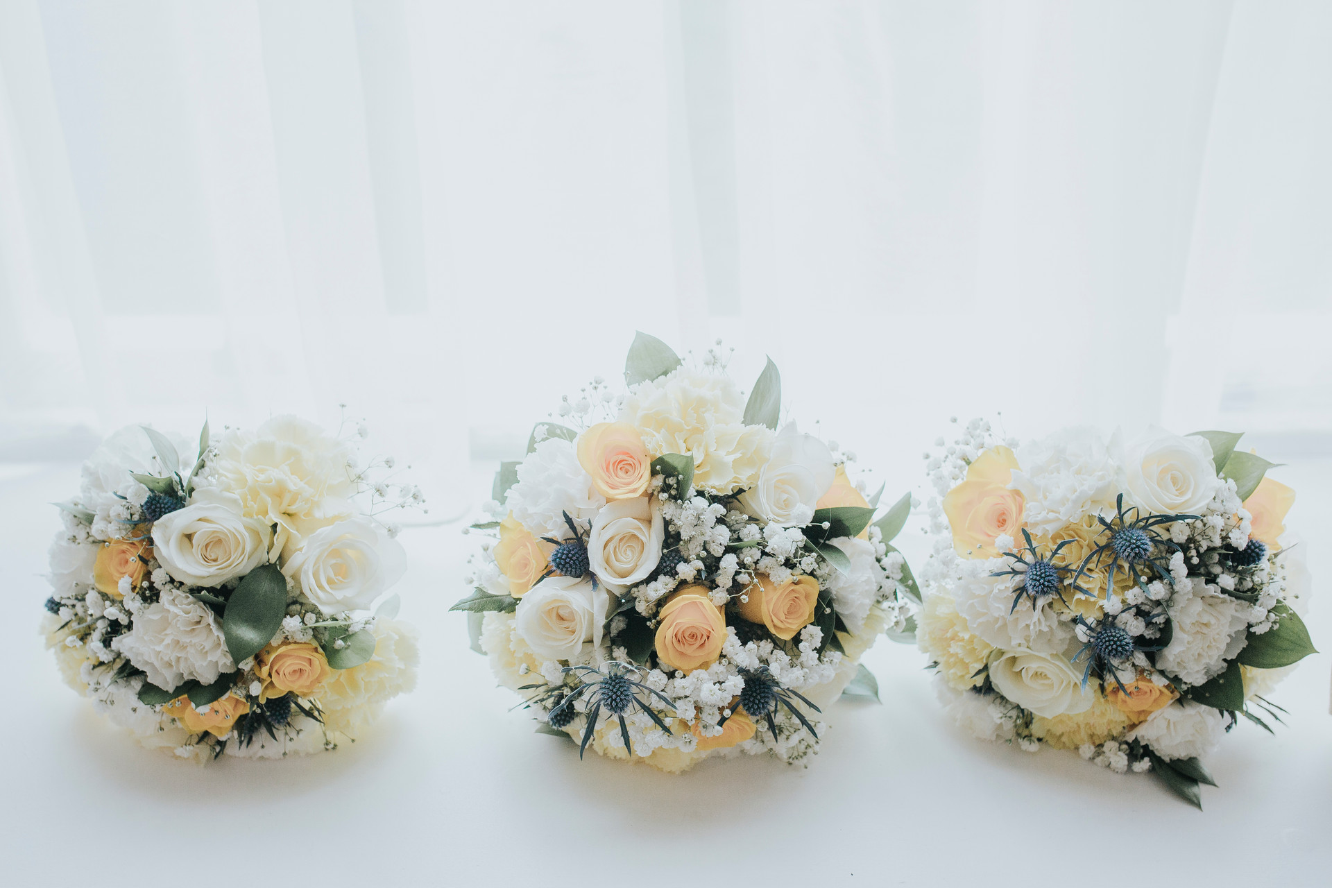 Ilkley wedding photographer bouquets