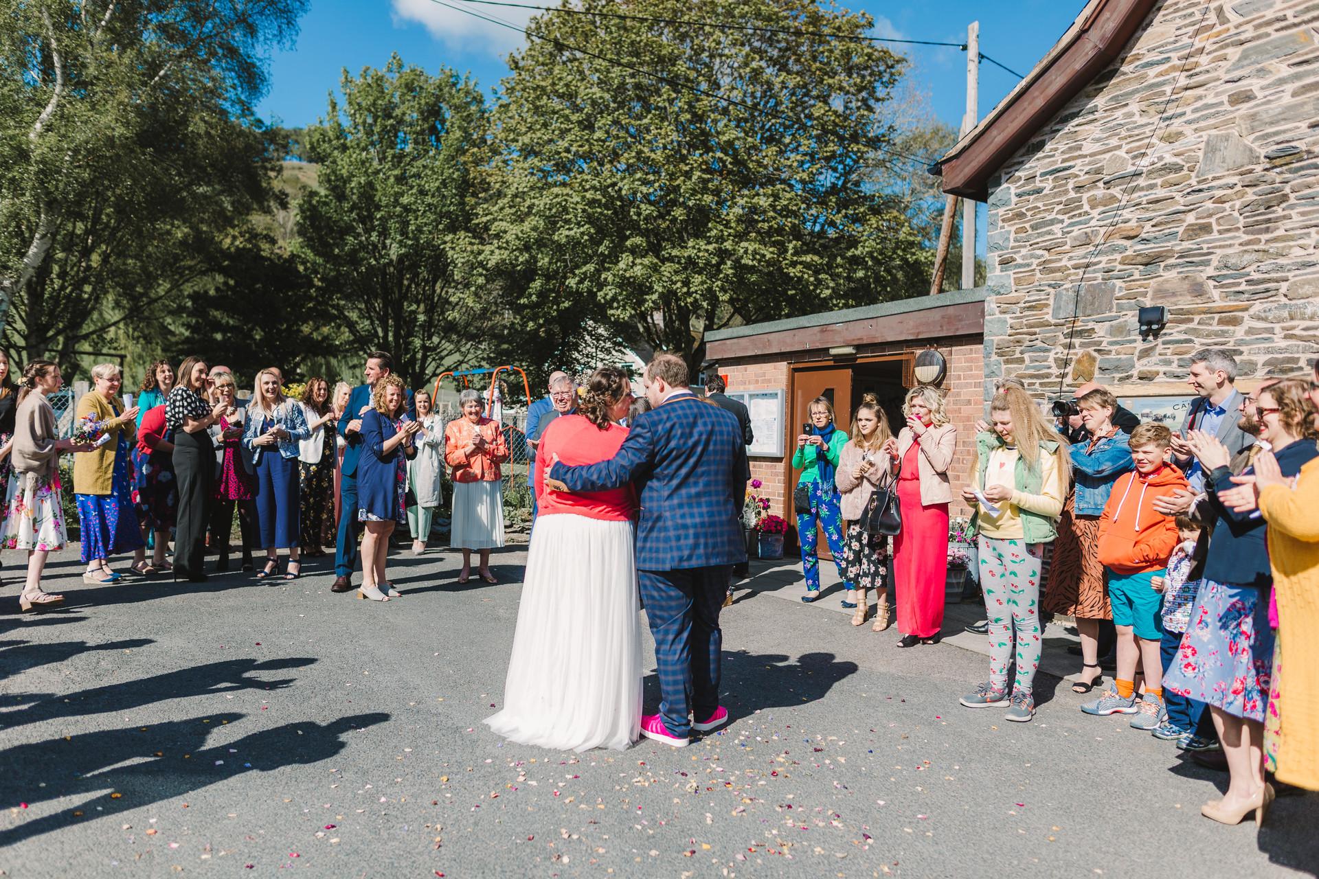 diy wedding in wales