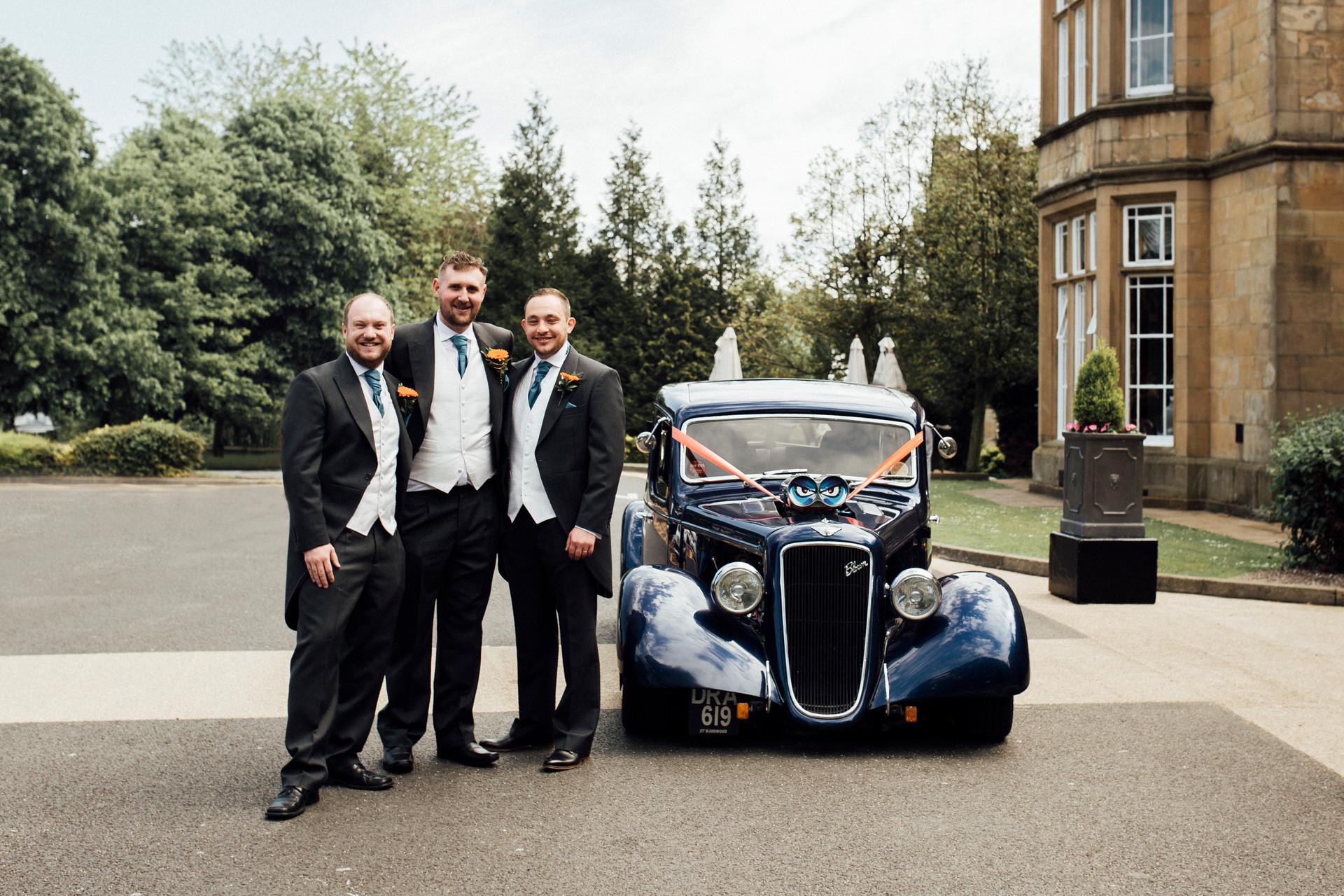 Dunkenhalgh Hotel wedding photography