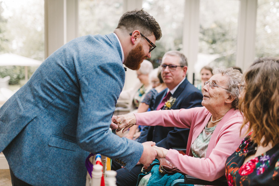 The Old Rectory House wedding