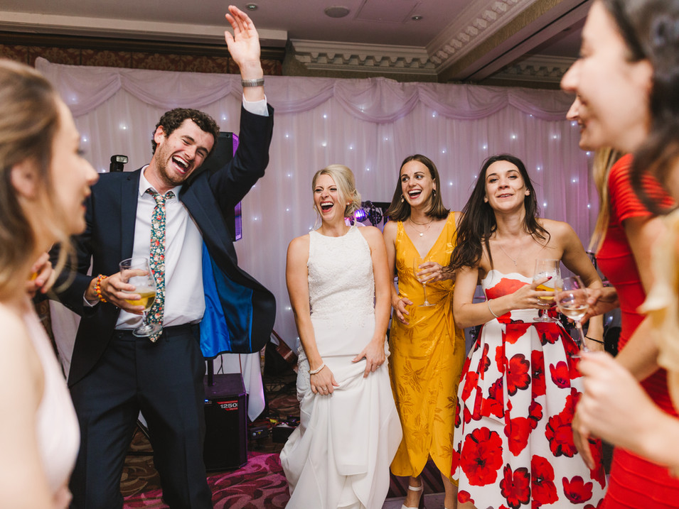 dancing at huddersfield wedding