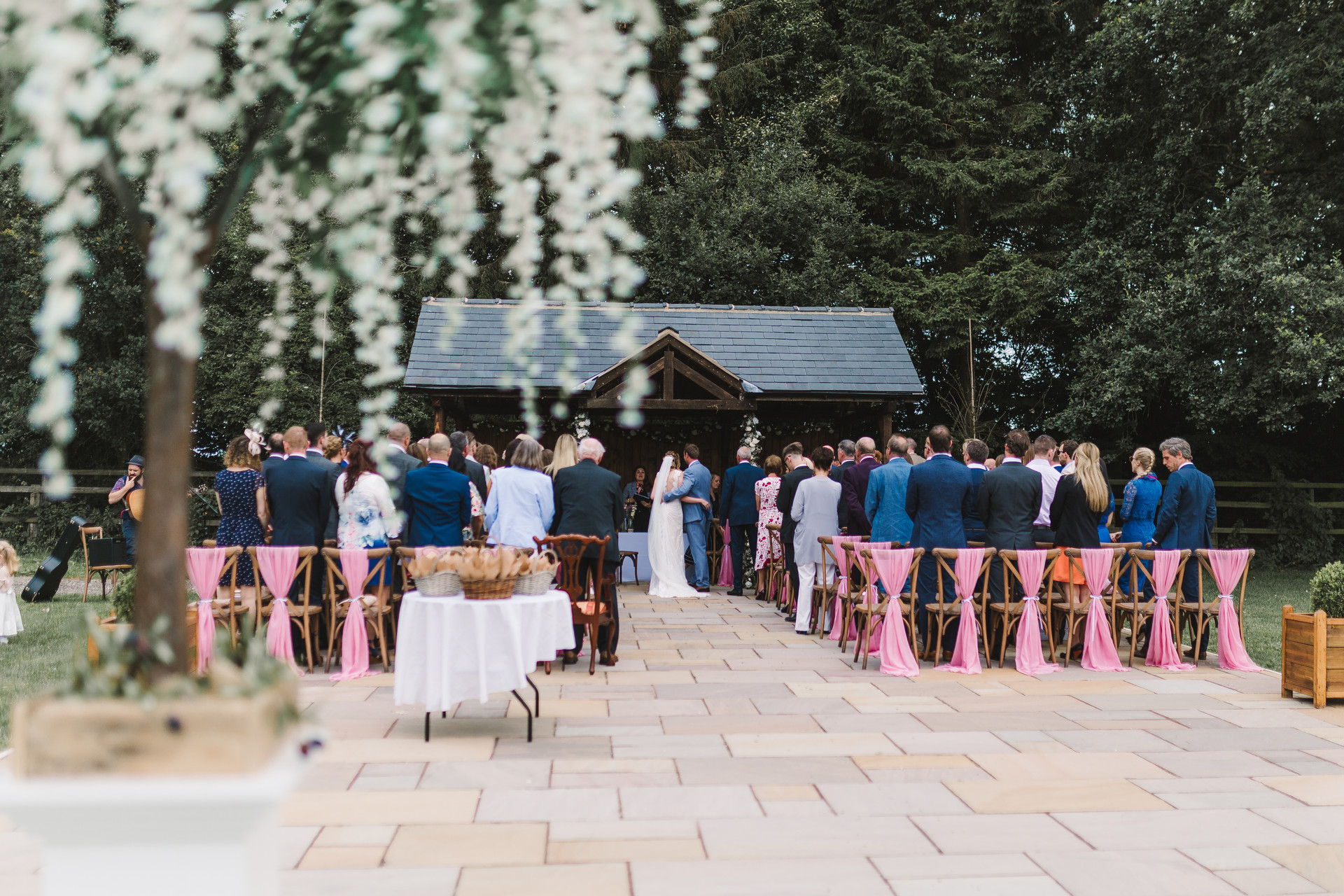 villa farm ceremony
