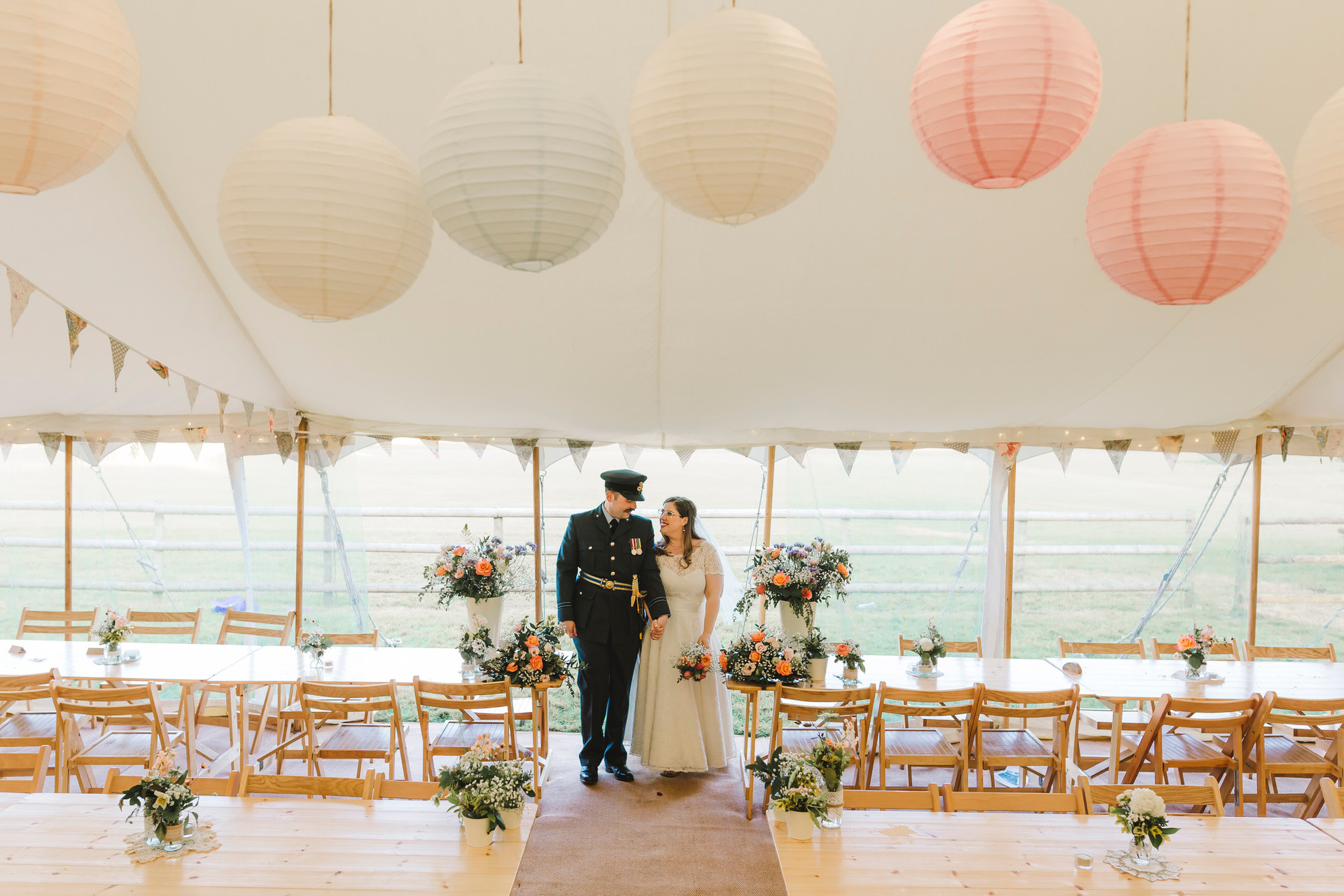 marquee wedding in lymm photography