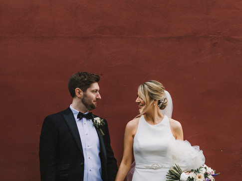 bride and groom in huddersfield