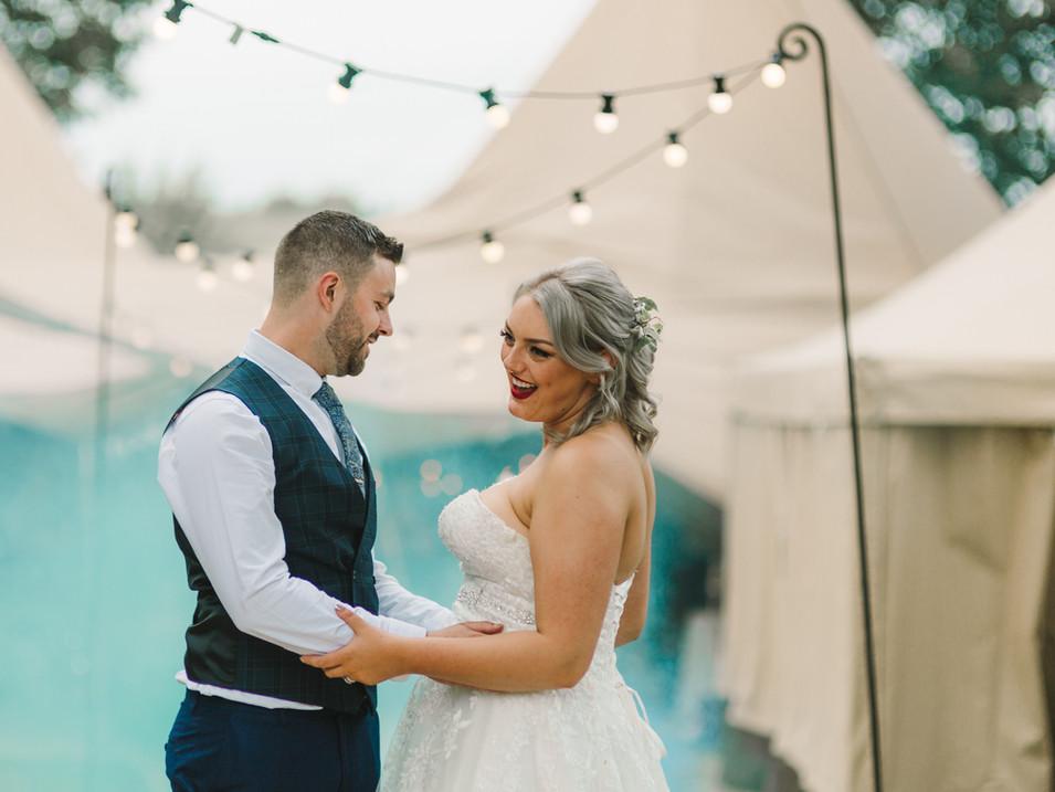 tipi wedding in huddersfield