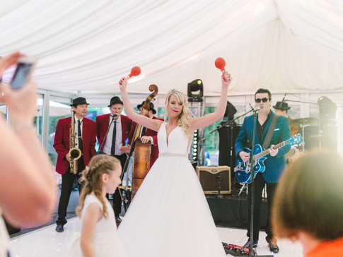 marquee wedding in huddersfield