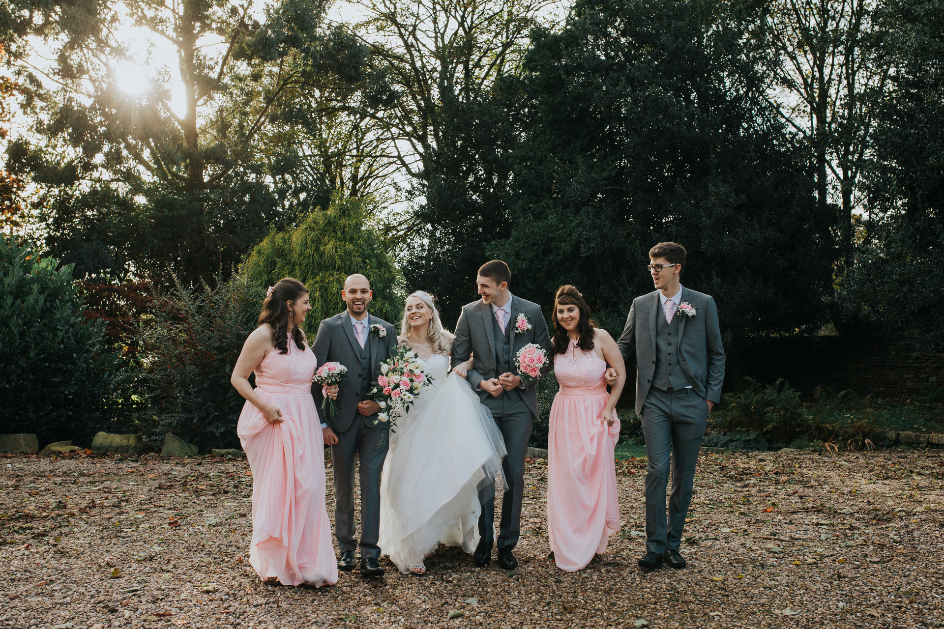 autumn wedding holdsworth house hotel