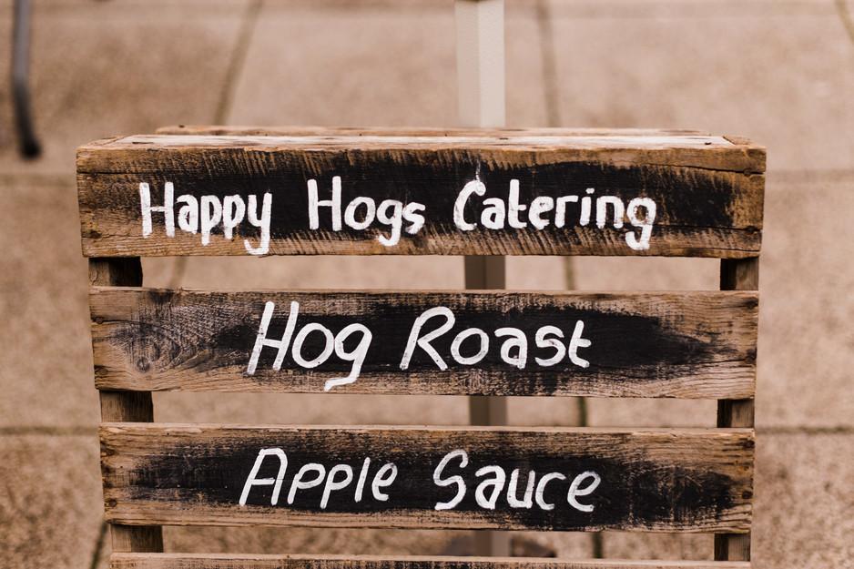 hog roast huddersfield wedding