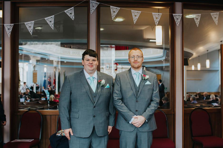 otley methodist church wedding photography