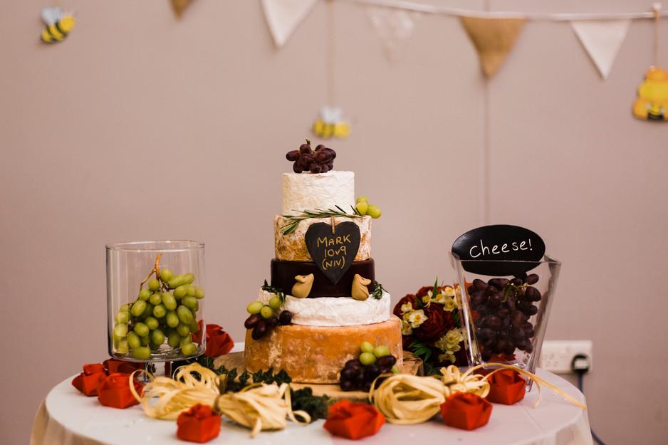 cheese wedding vake