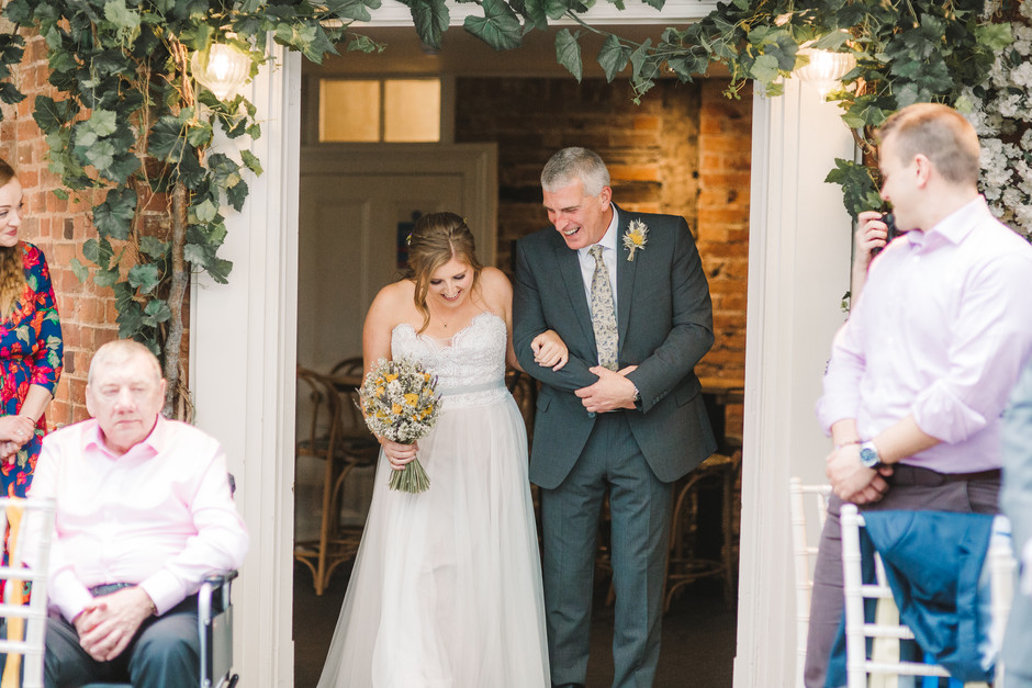 The Old Rectory House Redditch wedding