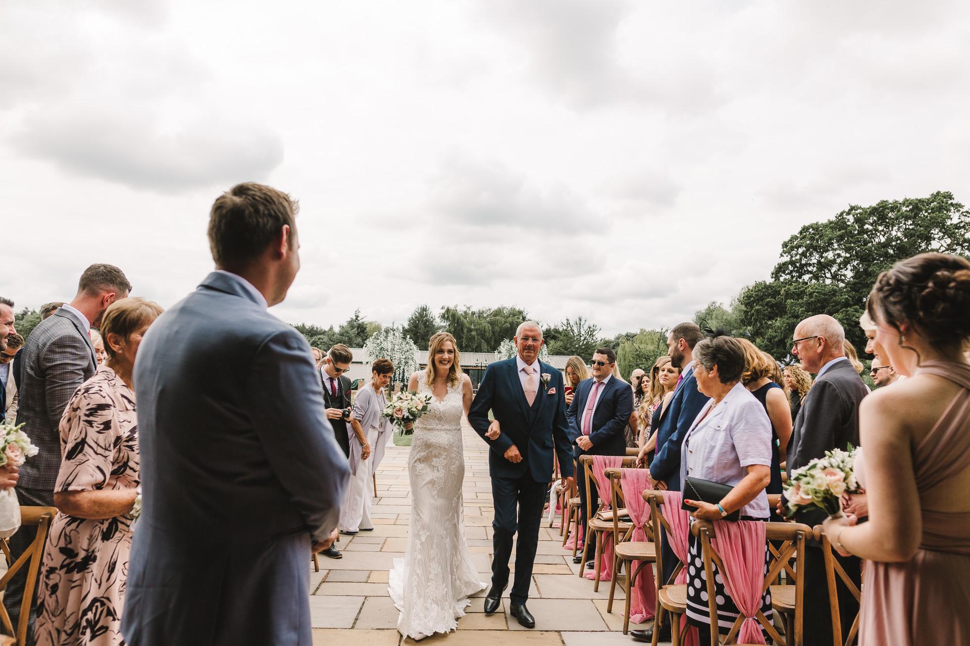 outdoor wedding york