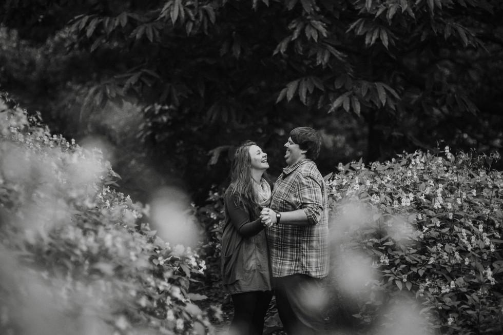 happy couple at otley chevin