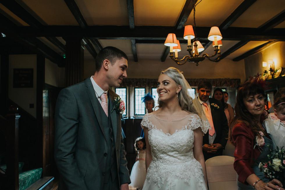 wedding photographer at holdsworth house hotel