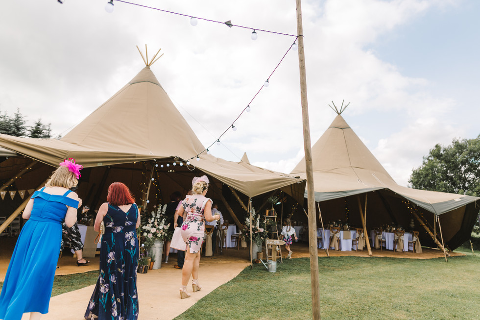 tipi at fox and goose chesterfield