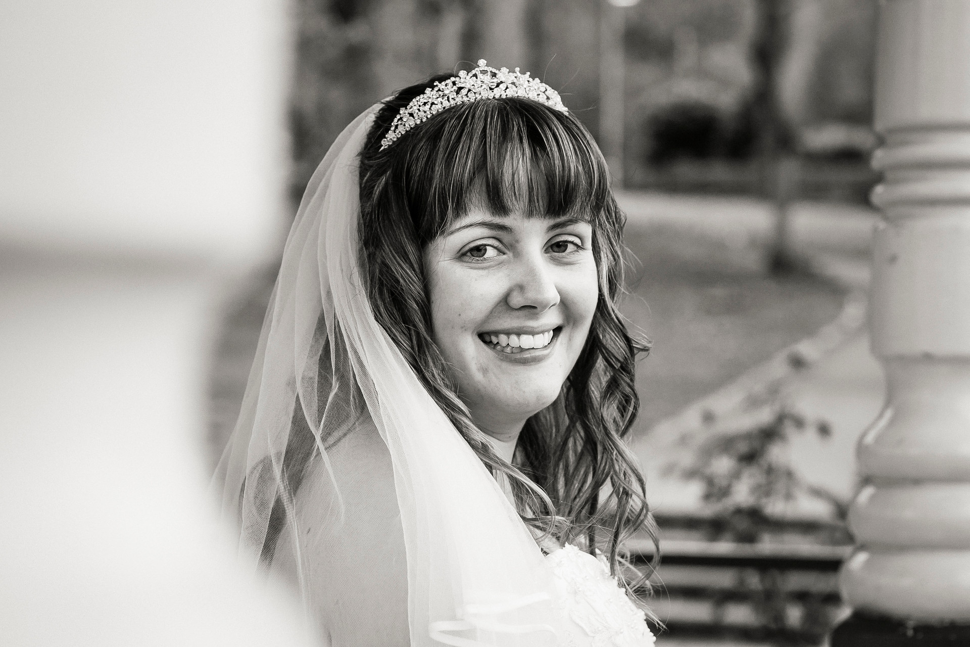 local park bridal photography