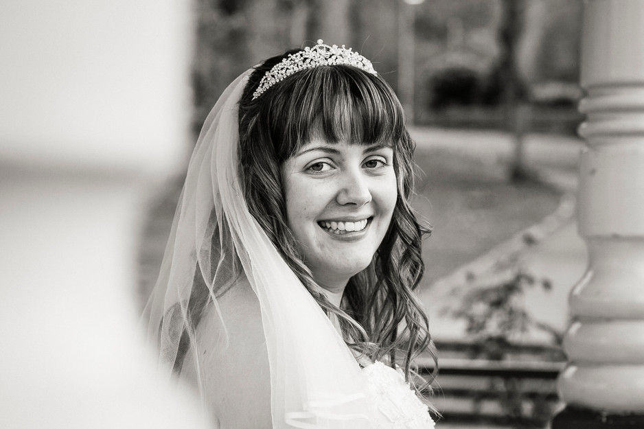local park bridal photography
