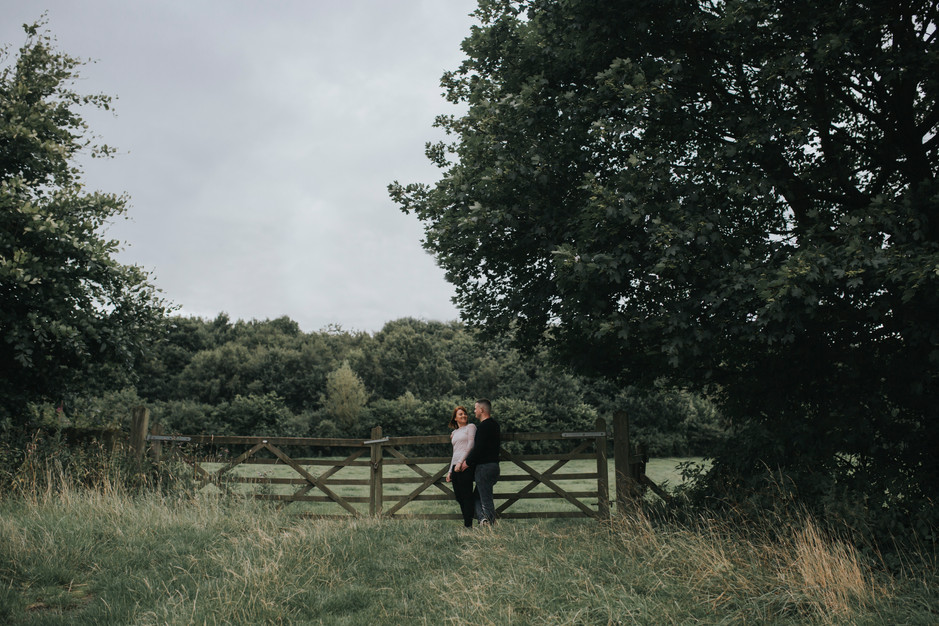 engagement shoot at oakwell hall