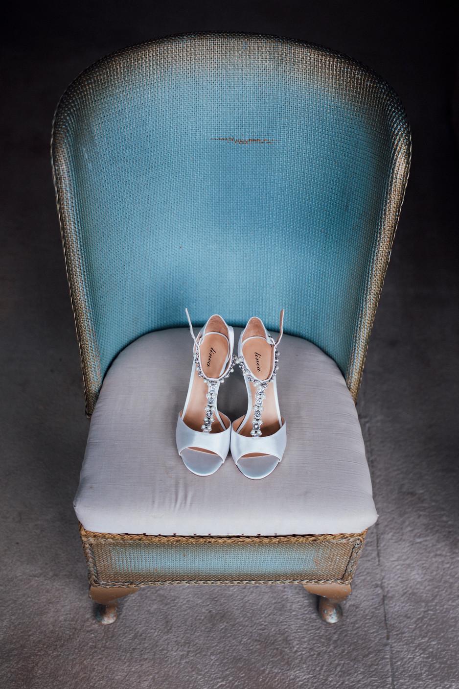 pastel wedding photography