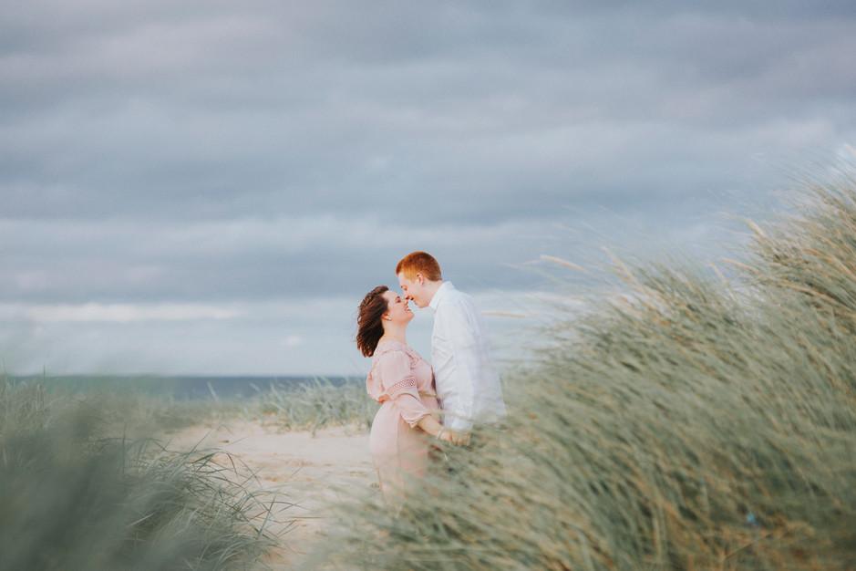 whitby beach wedding photographer