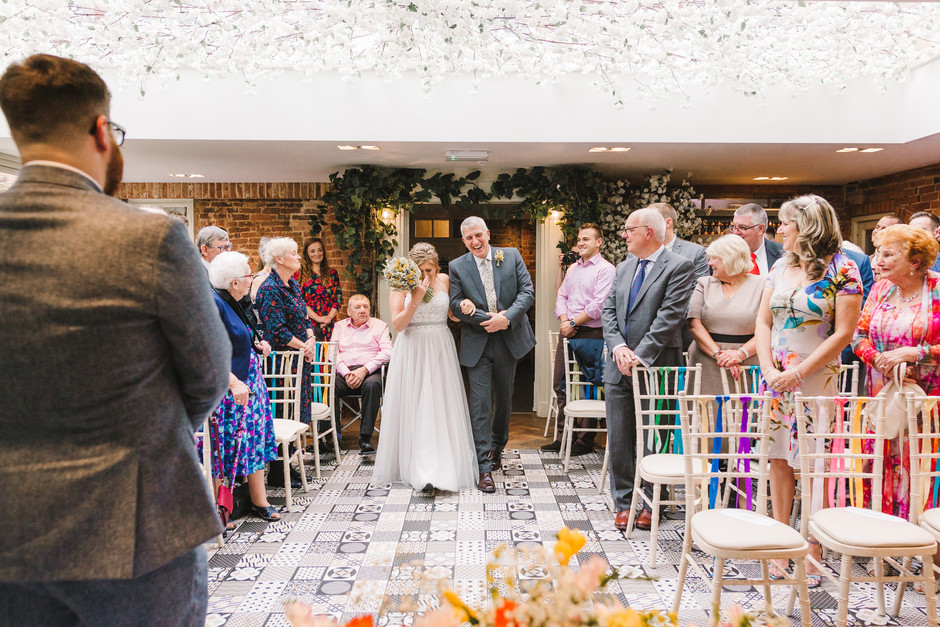 wedding at the Old Rectory House Redditch