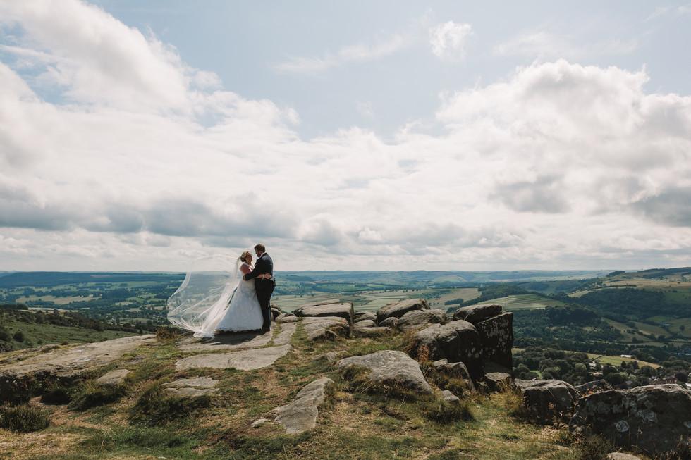 chesterfield wedding photography peak district