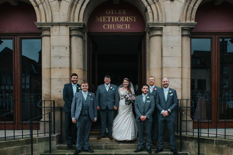 Otlsey Methodist Church wedding