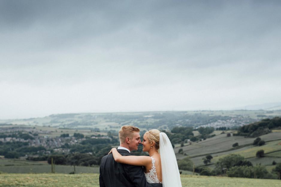 pastel wedding photographer west yorkshire