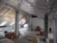 Cappotto Wutop termotecnico. Isolamento attico. Soffitto mansarda