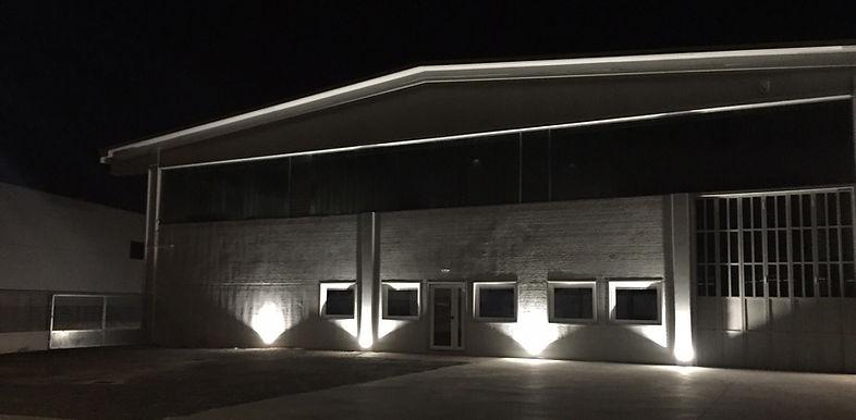 Capannone Bra, architettura Bra, Antonio Bellonio, Architetto Bra, lighting design, cemento, concrete