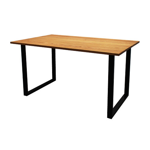 [NEW] iron leg table [square/oak]