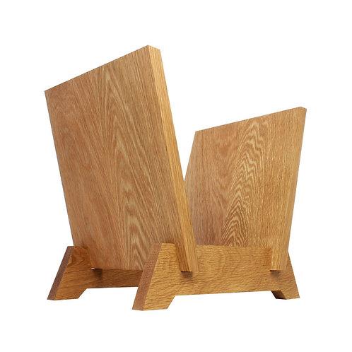 easy select record rack [oak]