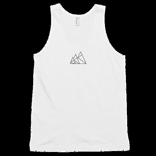 Mountain Logo White Tank