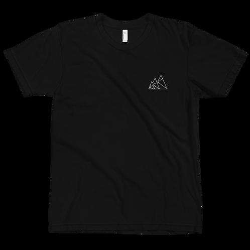 Mountain Logo Black Tee