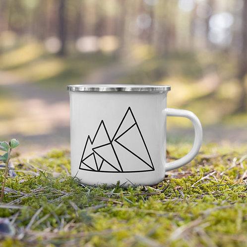 Mountain Logo Enamel Mug