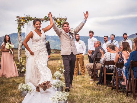 Annie & Jordan's Ranch Wedding in Steamboat Springs, CO