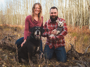 Kat, Will and the Doggos in Nederland, CO